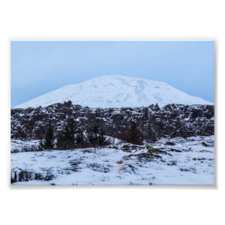 Continental plates in Iceland Photo Print