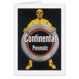 Continental Pneumatic Card