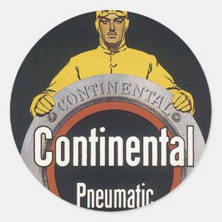 Continental Pneumatic Classic Round Sticker