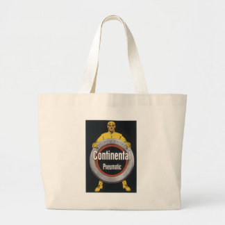Continental Pneumatic Large Tote Bag