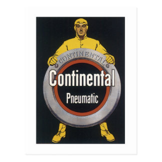 Continental Pneumatic Postcard