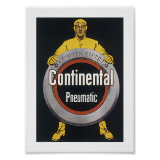 Continental Pneumatic Poster
