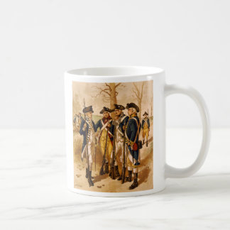 Continental Soldiers by Henry Alexander Ogden Classic White Coffee Mug