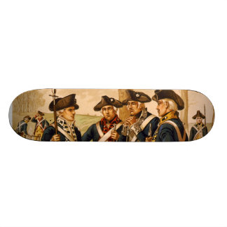 Continental Soldiers by Henry Alexander Ogden Skateboard Decks