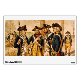 Continental Soldiers by Henry Alexander Ogden Wall Decal