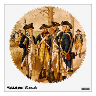 Continental Soldiers by Henry Alexander Ogden Wall Sticker