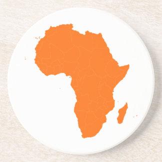 Continente de África Posavasos Cerveza