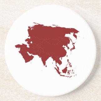 Continente de Asia Posavaso Para Bebida