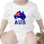 Continente de Australia Camisetas