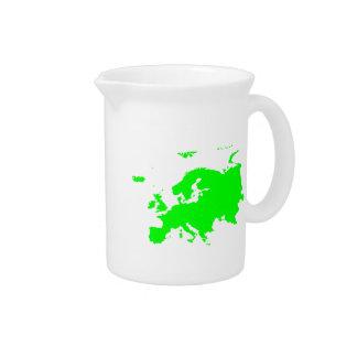 Continente de Europa Jarras Para Bebida
