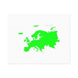 Continente de Europa Lona Estirada Galerias
