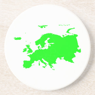 Continente de Europa Posavasos Para Bebidas
