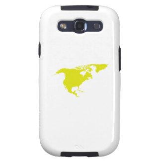 Continente de Norteamérica Galaxy S3 Carcasas