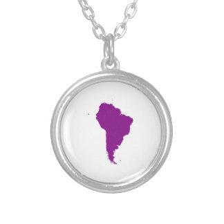 Continente de Suramérica Colgante Redondo
