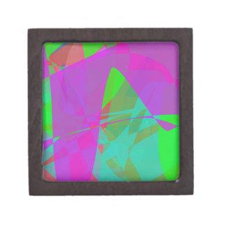 Continente púrpura cajas de recuerdo de calidad