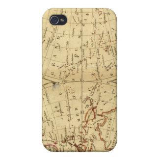 Continentes iPhone 4 Cárcasa