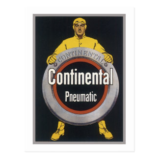 Continential Pneumatic Postcard