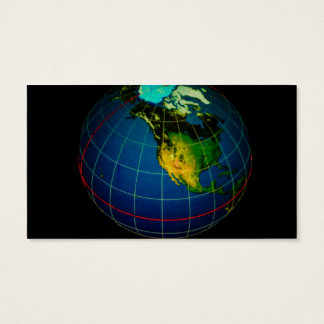 Continents Business Card