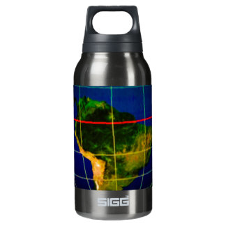 Continents Insulated Water Bottle