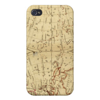 Continents iPhone 4/4S Cases