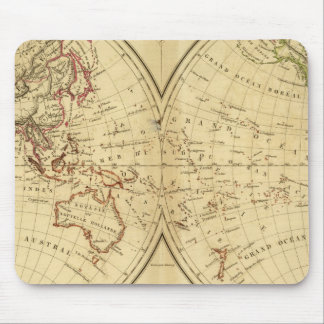 Continents Mouse Pad