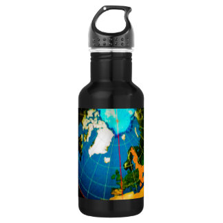 Continents 18oz Water Bottle
