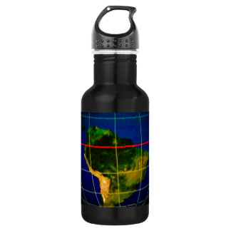 Continents Stainless Steel Water Bottle