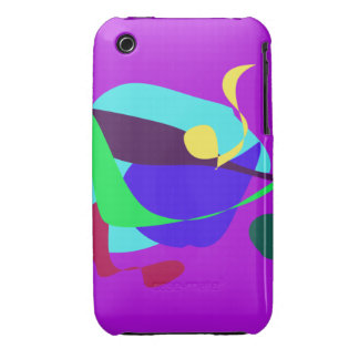 Contingency Vivid Orchid iPhone 3 Case