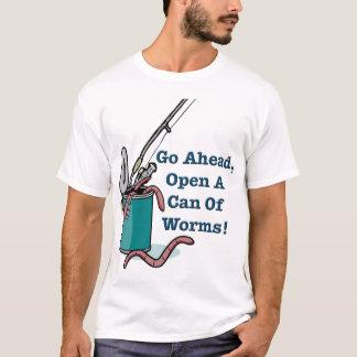 Continúe, abra una poder de la camiseta de los