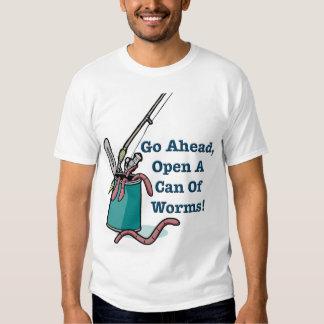 Continúe, abra una poder de la camiseta de los remera