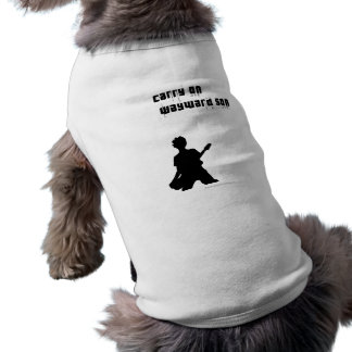 Continúe al hijo díscolo ropa para mascota