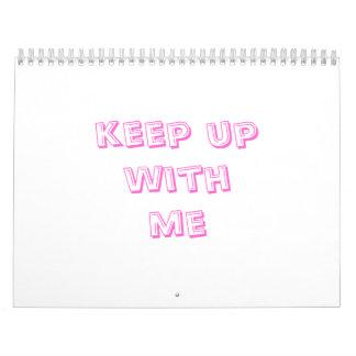 continúe conmigo calendarios de pared