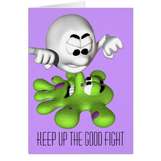 Continúe la buena tarjeta de la lucha