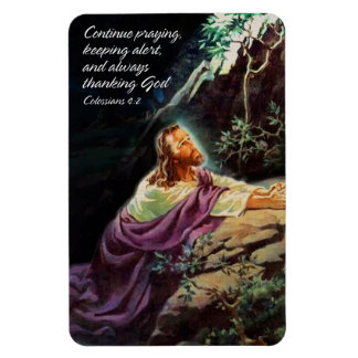 Continue Praying 1 Premium Magnet