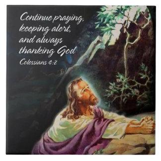 Continue Praying 1 Tile