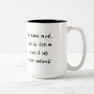 Continued Two-Tone Coffee Mug