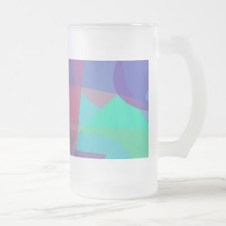 Continuity 16 Oz Frosted Glass Beer Mug