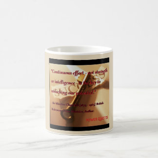 """Continuous effort... Coffee Mug"