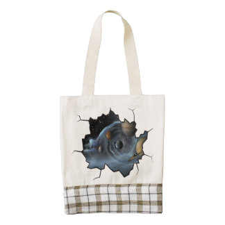 Continuous Living by David Ash Zazzle HEART Tote Bag
