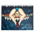 contorsionista, 2011 calendario