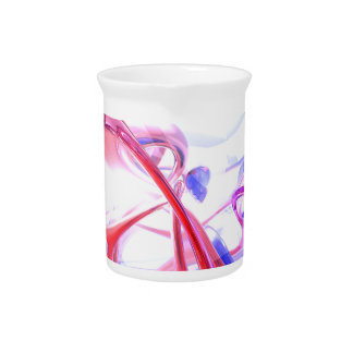Contortion Abstract Drink Pitchers