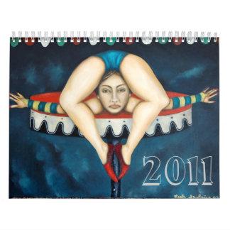 contortionist, 2011 calendar