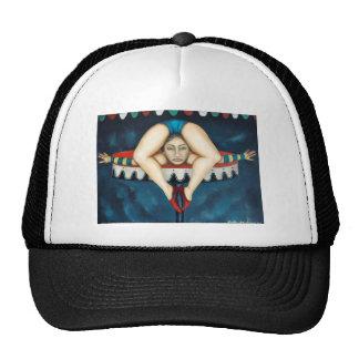 contortionist trucker hat