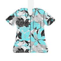 Contour Hawaii Tropical Lily Protea Aloha Shirt Ornament
