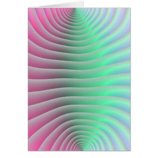 Contour Lines Card