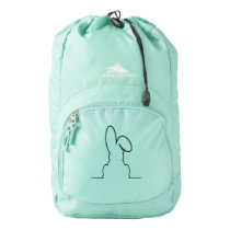 Contour of a hare high sierra backpack