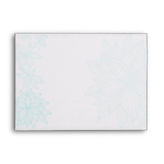 Contoured Bloom Sapphire Envelope