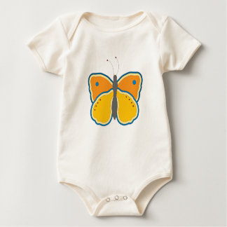 Contoured Butterfly Baby Bodysuit