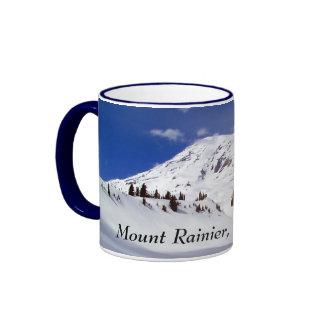 Contours in the Snow Coffee Mug