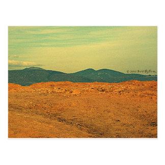 Contours Postcard